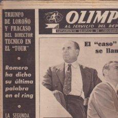 Coleccionismo deportivo: REVISTA DEPORTIVA OLIMPIA 28 JULIO 1953. Lote 141172222