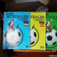 Coleccionismo deportivo: LOS MUNDIALES. DESDE 1930 A 1982. 30 FASCICULOS.. Lote 141328429