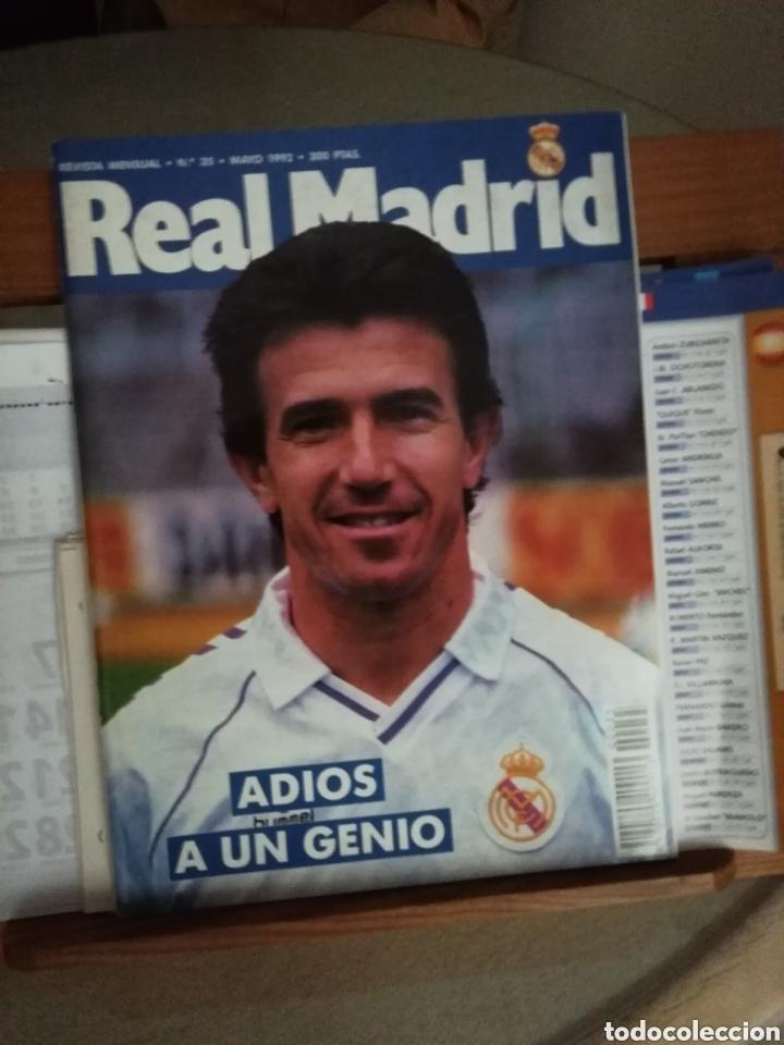 REVISTA REAL MADRID. 1992. JUANITO LEYENDA. (Coleccionismo Deportivo - Revistas y Periódicos - otros Fútbol)