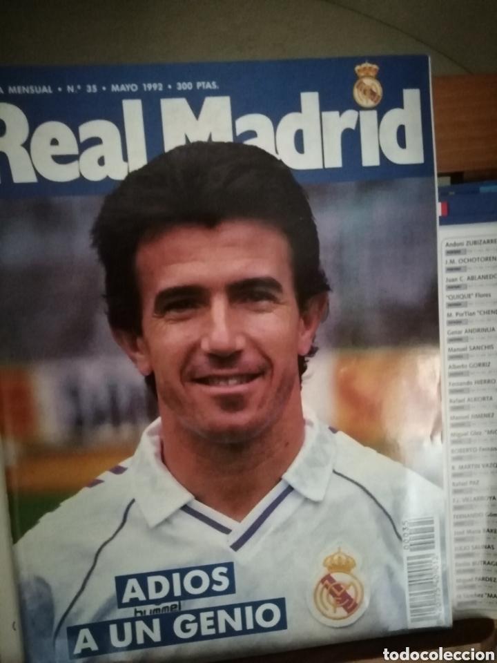 Coleccionismo deportivo: Revista Real Madrid. 1992. Juanito leyenda. - Foto 2 - 141668236