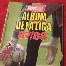 Coleccionismo deportivo: ÁLBUM DE LA LIGA 87 88 FUTGOL. Lote 141837926