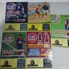 Coleccionismo deportivo: LOTE 5 REVISTAS UNIÓN GRANATE - PONTEVEDRA CF 2007. Lote 142110865