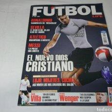 Coleccionismo deportivo: REVISTA FUTBOL LIFE N°1 - 2007 - CRISTIANO RONALDO, RONALDINHO, ETC.. Lote 142111749