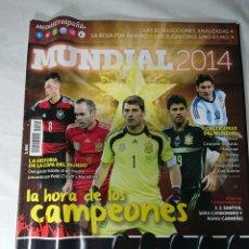 Coleccionismo deportivo: GUÍA MUNDIAL 2014 FÚTBOL - LAS 32 SELECCIONES ANALIZADAS. Lote 142113305