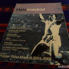 Coleccionismo deportivo: HALA MADRID Nº 1 REVISTA REAL MADRID C.F. OCTUBRE 2001. 850 PTS. ALFREDO DI STÉFANO. BUEN ESTADO.. Lote 142370118