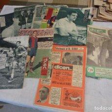 Coleccionismo deportivo: LOTE DE TRECE REVISTAS ANTIGUAS DEPORTIVAS DICEN . Lote 142522390