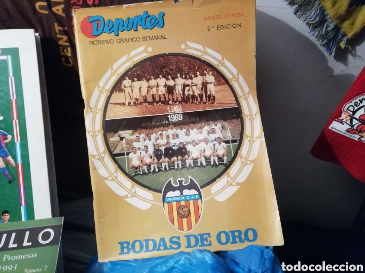 VALENCIA CF. REVISTAS, ÁLBUM Y ESPECIAL 50 AÑOS. LOTE COMPLETO. (Coleccionismo Deportivo - Revistas y Periódicos - otros Fútbol)