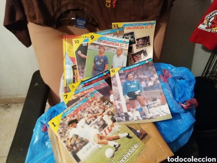 Coleccionismo deportivo: Valencia cf. Revistas, álbum y especial 50 años. Lote completo. - Foto 5 - 142738973