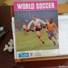 Coleccionismo deportivo: MUNDIAL 1966 ENGLAND. REVISTA WORLD SOCCER.. Lote 143017097
