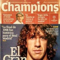 Coleccionismo deportivo: REVISTA DE FÚTBOL ''CHAMPIONS'' - Nº 1 (2006). Lote 143112210