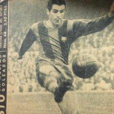 Coleccionismo deportivo: FUT-9. EVARISTO, UN MAXIMO GOLEADOR. COLECCIÓN IDOLOS DEL DEPORTE Nº 44. FEBRERO DE 1959. Lote 143267238