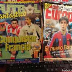Coleccionismo deportivo: REVISTA FÚTBOL FANTÁSTICO. NÚMERO 1. 1998. MENSUAL.. Lote 143510542