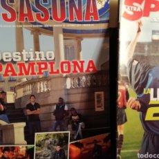 Coleccionismo deportivo: REVISTA OSASUNA DE FÚTBOL. AÑO 2011 PRIMERA DIVISIÓN.. Lote 143526928