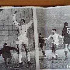 Coleccionismo deportivo: REAL MADRID - 100 PERIODICOS, 100 POSTERS Y 100 LAMINAS (1902 - 2002). LOTE UNICO. Y PAGO SEMANAL. Lote 143842598