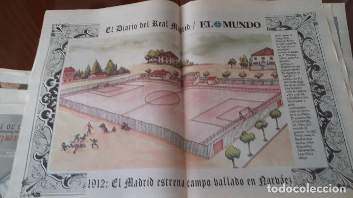 Coleccionismo deportivo: REAL MADRID - 100 PERIODICOS, 100 POSTERS Y 100 LAMINAS (1902 - 2002). LOTE UNICO. Y PAGO SEMANAL - Foto 2 - 143842598
