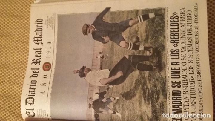 Coleccionismo deportivo: REAL MADRID - 100 PERIODICOS, 100 POSTERS Y 100 LAMINAS (1902 - 2002). LOTE UNICO. Y PAGO SEMANAL - Foto 4 - 143842598