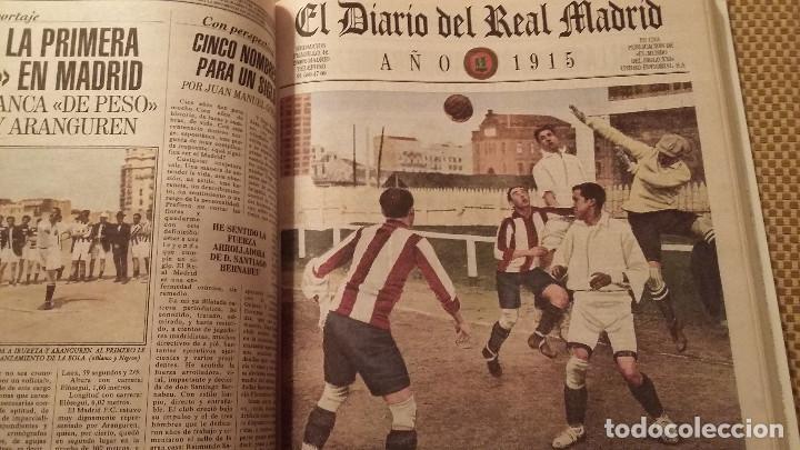 Coleccionismo deportivo: REAL MADRID - 100 PERIODICOS, 100 POSTERS Y 100 LAMINAS (1902 - 2002). LOTE UNICO. Y PAGO SEMANAL - Foto 5 - 143842598