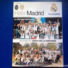 Coleccionismo deportivo: REVISTA HALA MADRID. DEL REAL MADRID. NUMERO 66. FUTBOL. BALONCESTO. ACM. Lote 152855906