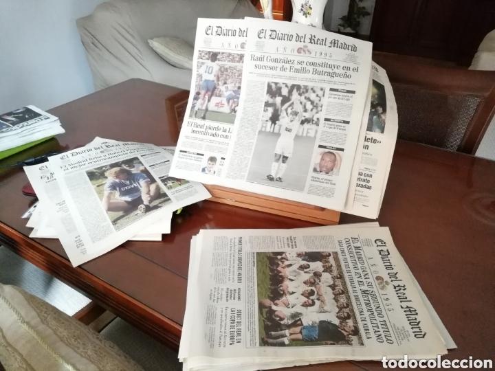 Coleccionismo deportivo: Real Madrid. Colección 100 periódicos seguidos. Diario oficial. 1900- 2002 - Foto 5 - 144292140