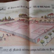 Coleccionismo deportivo: REAL MADRID. COLECCIÓN 100 POSTER CENTENARIO. 1900 - 2002. SEGUIDOS.. Lote 144292294