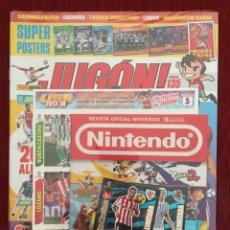 Coleccionismo deportivo: REVISTA JUGON # 135 PRECINTADA CROMOS MERCADO INVIERNO 2017 2018 2 VERSIONES IÑIGO MARTINEZ. Lote 144314154