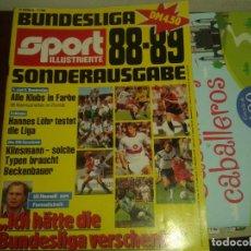 Coleccionismo deportivo: REVISTA EXTRA LIGA ALEMAN 88- 89 . - BUNDESLIGA. MUY COMPLETO .. Lote 144660126