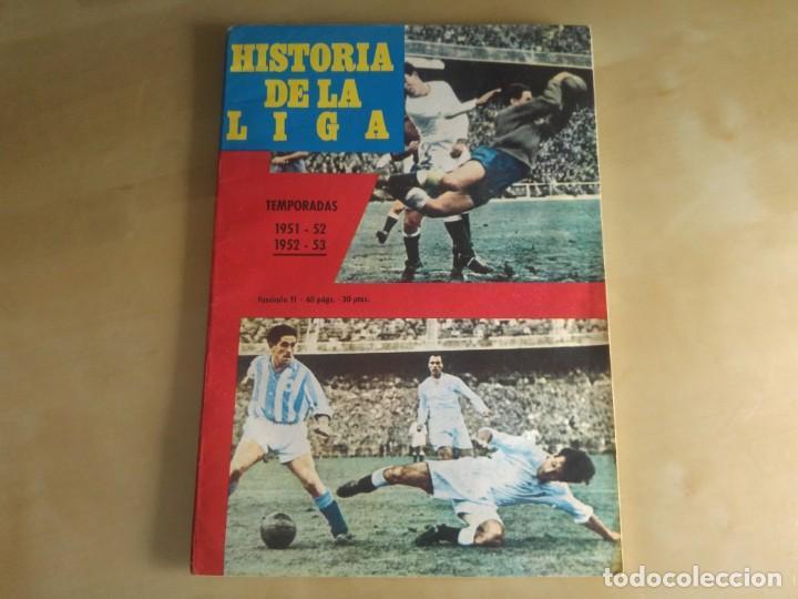 FASCÍCULO 11 - HISTORIA DE LA LIGA (IBÉRICO EUROPEA DE EDICIONES) - 1951-52 Y 1952-53 (Coleccionismo Deportivo - Revistas y Periódicos - otros Fútbol)