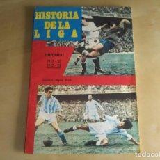 Coleccionismo deportivo: FASCÍCULO 11 - HISTORIA DE LA LIGA (IBÉRICO EUROPEA DE EDICIONES) - 1951-52 Y 1952-53. Lote 144826014