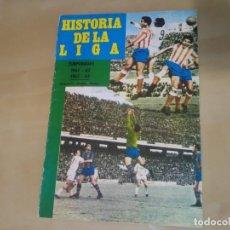 Coleccionismo deportivo: FASCÍCULO 16 - HISTORIA DE LA LIGA (IBÉRICO EUROPEA DE EDICIONES) - 1961-62 Y 1962-63. Lote 144826390