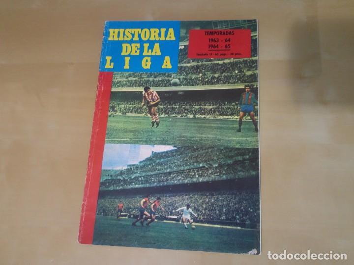 FASCÍCULO 17 - HISTORIA DE LA LIGA (IBÉRICO EUROPEA DE EDICIONES) - 1963-64 Y 1964-65 (Coleccionismo Deportivo - Revistas y Periódicos - otros Fútbol)
