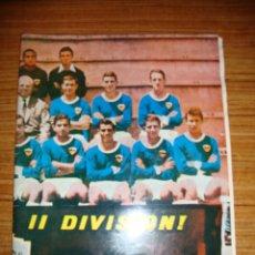 Coleccionismo deportivo: (TC-145) REVISTA RUMOR SEMANARIO DEPORTIVO U D LERIDA ASCENSO A II DIVISION POSTER Y PLANTILLA INTER. Lote 145156350