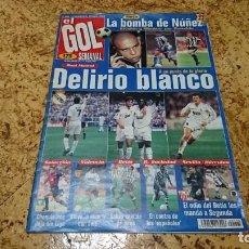 Coleccionismo deportivo: REVISTA EL GOL SEMANAL, JUNIO 1997,SIN POSTER. Lote 145279078