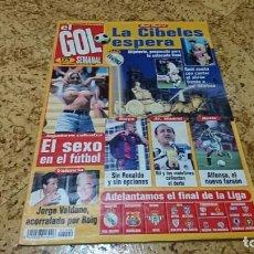 Coleccionismo deportivo: REVISTA EL GOL SEMANAL, JUNIO 1997,SIN POSTER. Lote 145279250