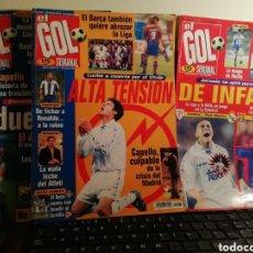 Coleccionismo deportivo: REVISTA EL GOL SEMANAL. NÚMEROS 1, 2 Y 3. 1996. RELIQUIA.. Lote 145383702