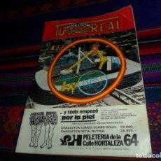 Colecionismo desportivo: TU REAL PROGRAMA OFICIAL PARTIDO LIGA REAL MADRID REAL ZARAGOZA 12-2-1984. PUBLI PHILIPS, SKOL. RARO. Lote 145626650