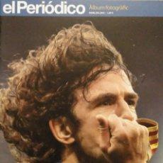 Coleccionismo deportivo: CARLES PUYOL - REVISTA-HOMENAJE FOTOGRÁFICO DE ''EL PERIÓDICO'' (2014) - F.C. BARCELONA. Lote 145778750