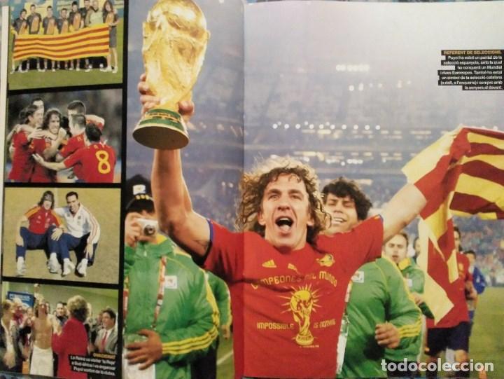Coleccionismo deportivo: Carles Puyol - Revista-homenaje fotográfico de El periódico (2014) - F.C. Barcelona - Foto 3 - 145778750