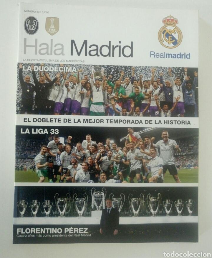 REVISTA HALA MADRID 63 AÑO 2017 LA DUODECIMA FÚTBOL REAL MADRID (Coleccionismo Deportivo - Revistas y Periódicos - otros Fútbol)