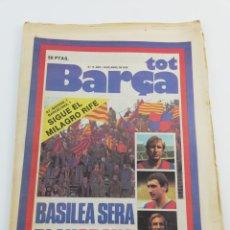 Coleccionismo deportivo: REVISTA DIARIO TOT BARÇA NÚMERO 14 AÑO I, 30 ABRIL 1979, BASILEA, FC BARCELONA. Lote 146383193