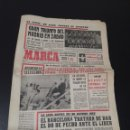 Coleccionismo deportivo: MARCA 5/04/1968. EUROCOPA INGLATERRA V. ESPAÑA LIGA BARCELONA R.MADRID BALONCESTO COPA EUROPA.. Lote 147437301