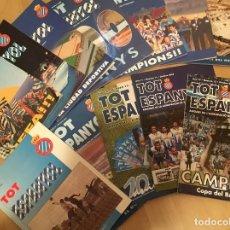 Coleccionismo deportivo: TOT ESPANYOL - REVISTAS ASOCIACIÓN VETERANOS RCD ESPANYOL - 1995 A 2006. Lote 147572714