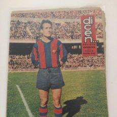 Coleccionismo deportivo: REVISTA DEPORTIVA DICEN, 9 DE ENERO DE 1960, TEJADA. Lote 147630130