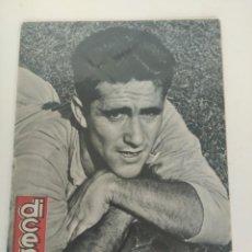 Coleccionismo deportivo: REVISTA DEPORTIVA DICEN, 9 DE DICIEMBRE DE 1957, TORRES R.C.D ESPAÑOL. Lote 147631598