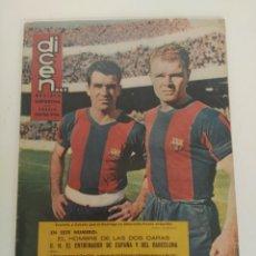 Coleccionismo deportivo: REVISTA DEPORTIVA DICEN, 10 DE OCTUBRE DE 1959, EVARISTO Y KUBALA. Lote 147632366