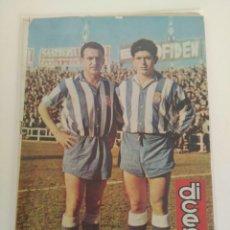 Coleccionismo deportivo: REVISTA DEPORTIVA DICEN, 2 DE AGOSTO DE 1958, SASTRE Y CASAMITJANA, R.C.D ESPAÑOL. Lote 147632614