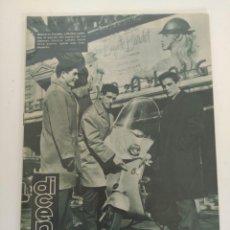 Coleccionismo deportivo: REVISTA DEPORTIVA DICEN, 20 DE FEBRERO DE 1960, DAUDER, MUÑOZ Y SASTRE R.C.D ESPAÑOL. Lote 147633386