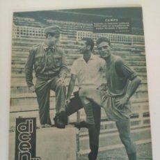 Coleccionismo deportivo: REVISTA DEPORTIVA DICEN, 8 DE JULIO DE 1960, CAMPS, RECAMÁN Y BARBERÁ. Lote 147633770