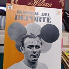 Coleccionismo deportivo: FAMOSOS DEL DEPORTE 10, DI STEFANO 1969. Lote 147651493