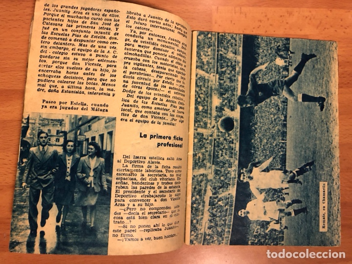Coleccionismo deportivo: Arza fútbol por bulerías.coleccion idolos del deporte - Foto 3 - 147882424
