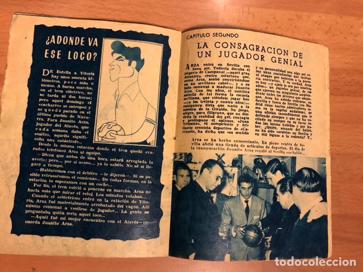 Coleccionismo deportivo: Arza fútbol por bulerías.coleccion idolos del deporte - Foto 7 - 147882424